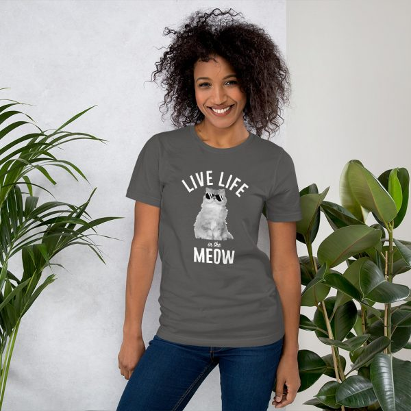 Live Life in the Meow T-Shirt 2