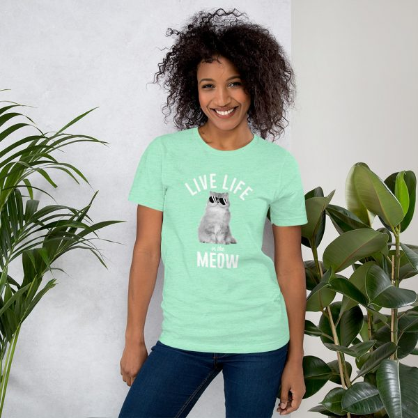 Live Life in the Meow T-Shirt 5